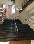 die Stufen sind auch kaum zu übersehen