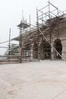 Baustelle am Diwan-i Khas