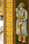 Überall war das Hotel mit Malereien dekoriert