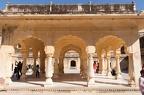 Baradari Pavillon im Hof von Man Singhs Palast