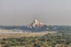 ... diese Sicht hatte Shah Jahan während seines  Hausarrests