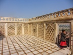 Hier verbrachte Shah Jahan die letzten Jahre seines lebens, nachdem er von seinem Sohn entmachtet wurde. Er hatte von hier zumindest einen Blick auf das Taj Mahal - das Grabmahl seiner geliebten Frau Mumtaz Mahal
