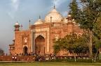 ... vom Taj Mahal westliche gelegen - in Richtung Mekka