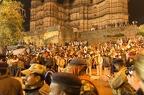 Blick auf den Chaturbhuj-Tempel