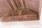 Deckenmalerei im Raja Mahal