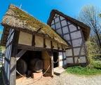 ... aus Oberdollendorf. Das ehemalige Kelterhaus aus der Kirchbitzgasse in Oberdollendorf / ca. 1640Region: Westerwald/Mittelrhein