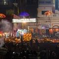 Ganga Aarti Zeremonie